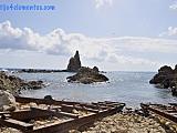 El Arrecife de las Sirenas, Cabo de Gata